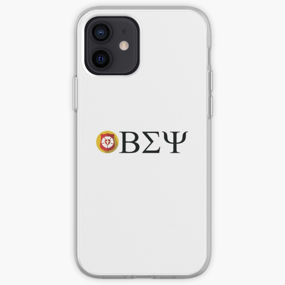 Beta Sigma Psi - badge iPhone Case & Cover