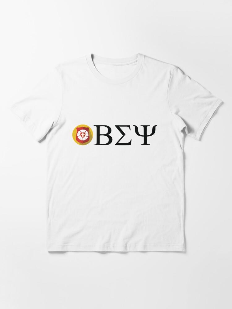 Alternate view of Beta Sigma Psi - badge Essential T-Shirt
