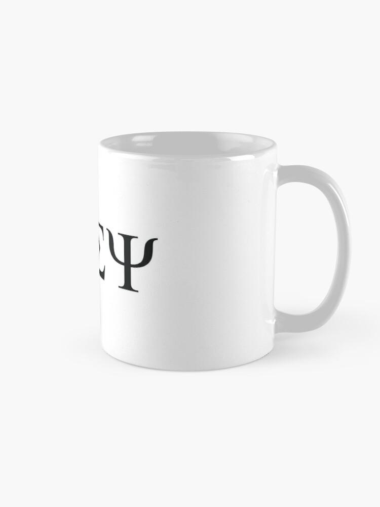 Alternate view of Beta Sigma Psi - badge Mug
