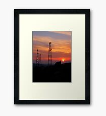 Giants.. Framed Print