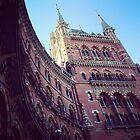 St. Pancras Grand Hotel by Robert Steadman