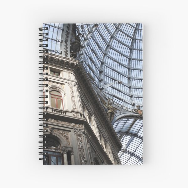 Galleria, Naples Spiral Notebook