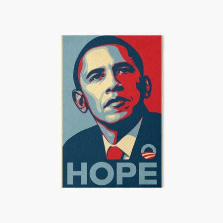 Obama Hope Art Board Print