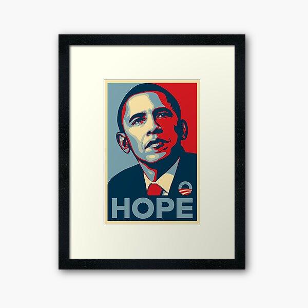 Obama Hope Framed Art Print
