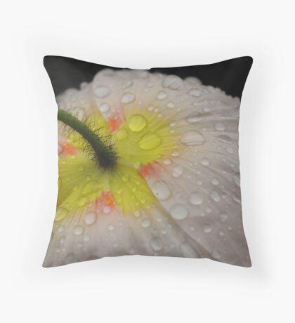 Poppydrops Throw Pillow