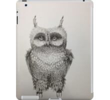 Cute Owl highly detailed iPad Case/Skin