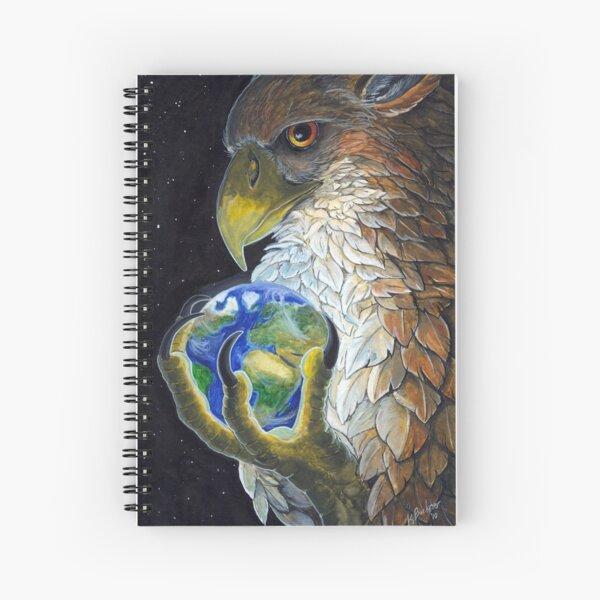 Gryphon Tarot - The World Spiral Notebook