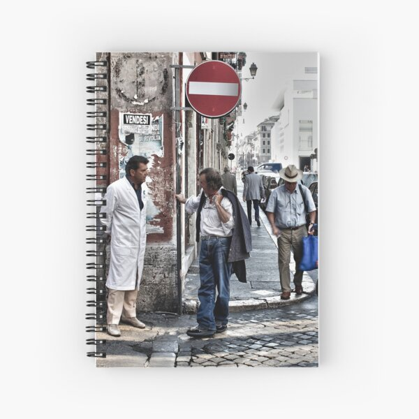 Street Talk, Rome Spiral Notebook