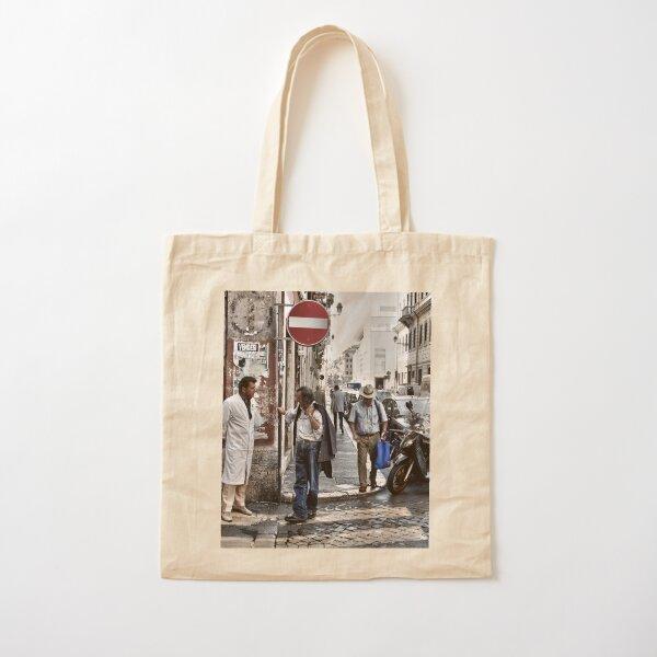 Street Talk, Rome Cotton Tote Bag