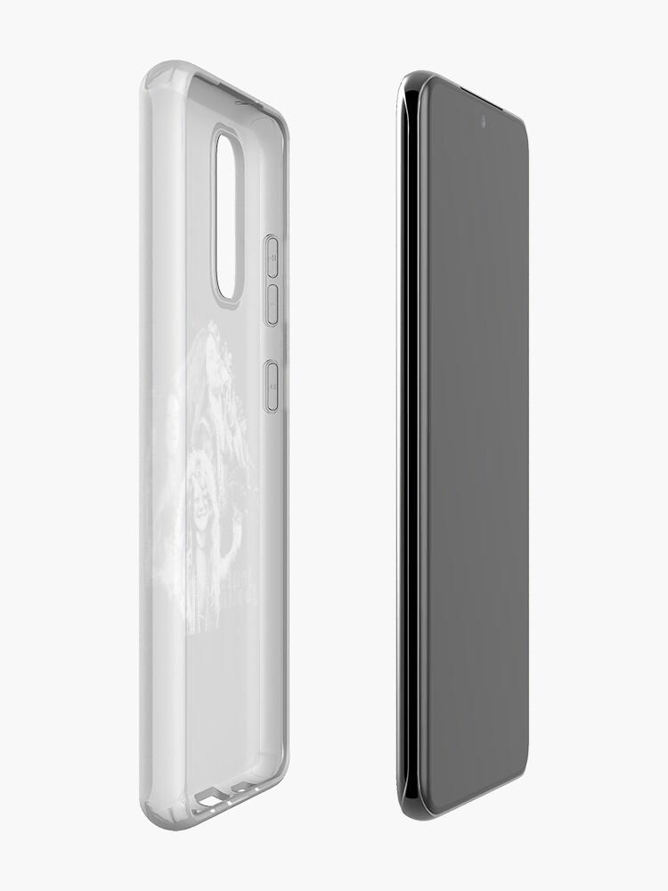 Alternate view of Janis Joplin Black - digital paint by Iona Art Digital Case & Skin for Samsung Galaxy