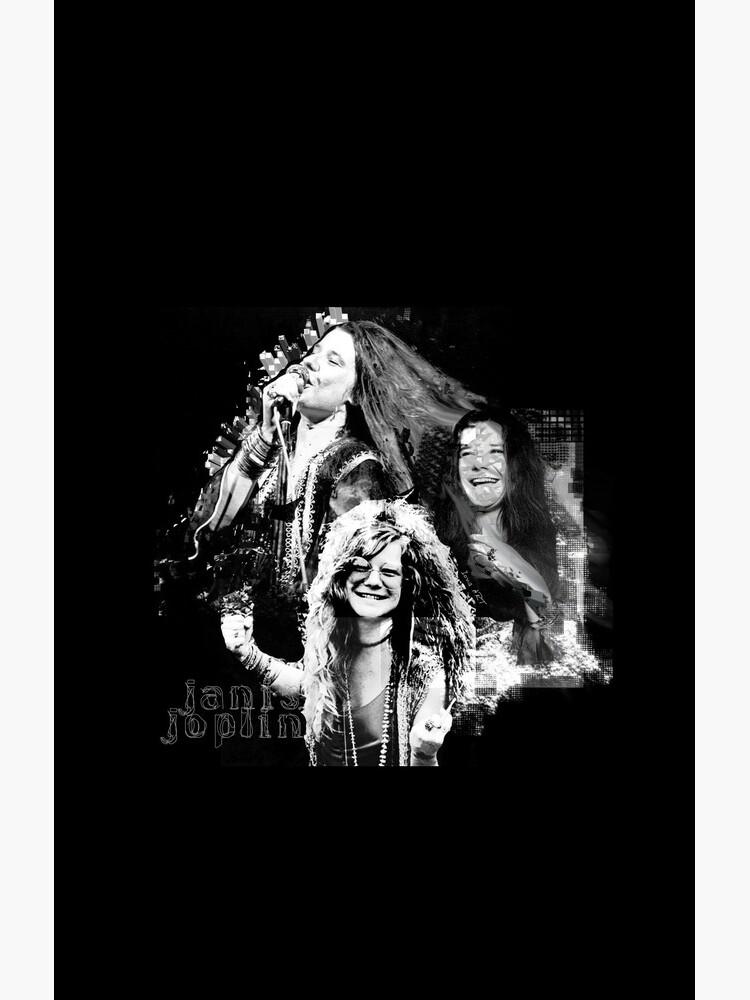 Janis Joplin Black - digital paint by Iona Art Digital by IonaArtDigital