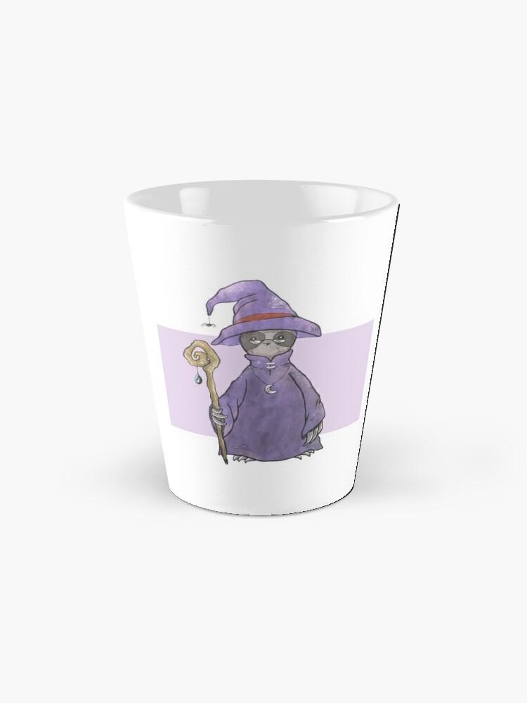 Alternate view of Sloth the Wizard Mug