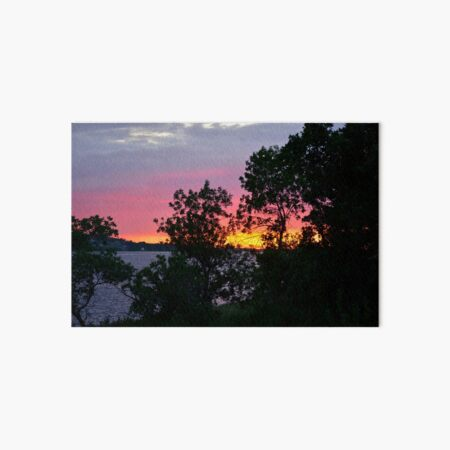 Magical Mystical Sunset Art Board Print