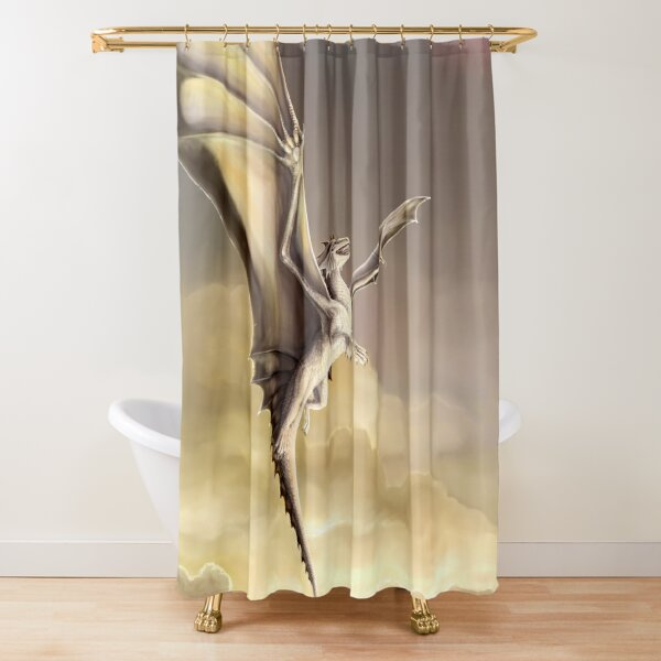 To Touch The Sky Shower Curtain