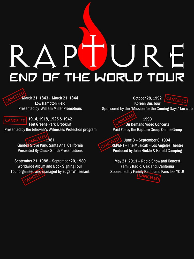 Rapture - End Of The World Tour  by OzShadow