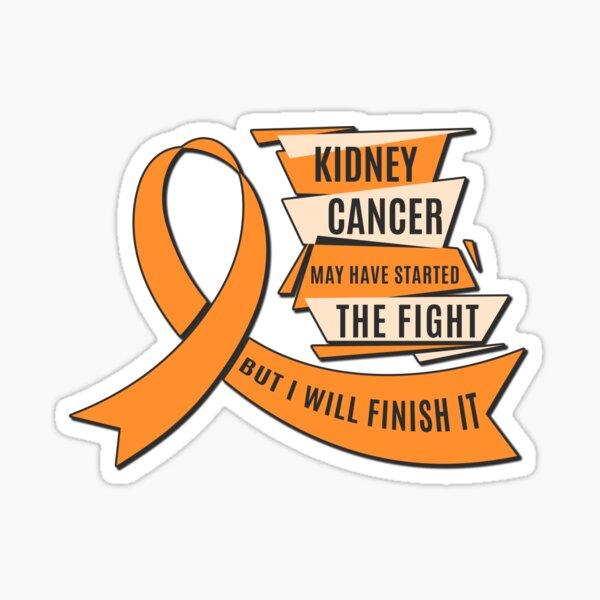 Kidney Cancer Survivor Stickers Redbubble