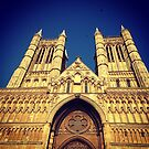 Lincoln Cathedral in Sunlight by Robert Steadman