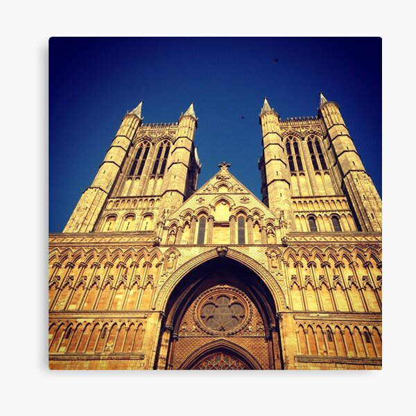 Lincoln Cathedral in Sunlight Canvas Print