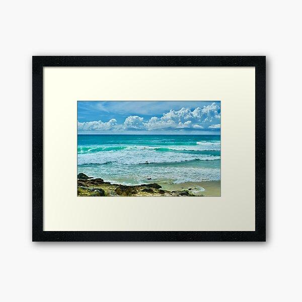Cabarita Beach 2 Framed Art Print