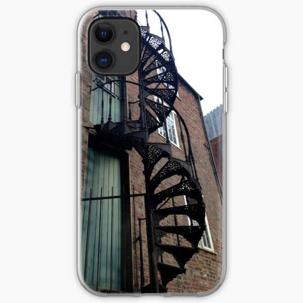 Spiral staircase iPhone Soft Case