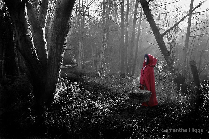 Quot Little Red Riding Hood Quot By Samantha Higgs Redbubble