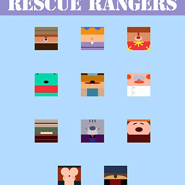 Chip & Dale Rescue Rangers by Bitedaily