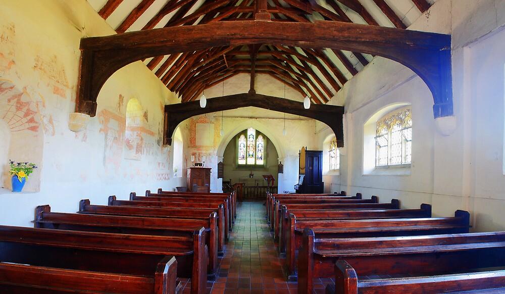 St Thomas Becket Church, Capel by Dave Godden