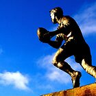 Run with the ball by Robert Steadman