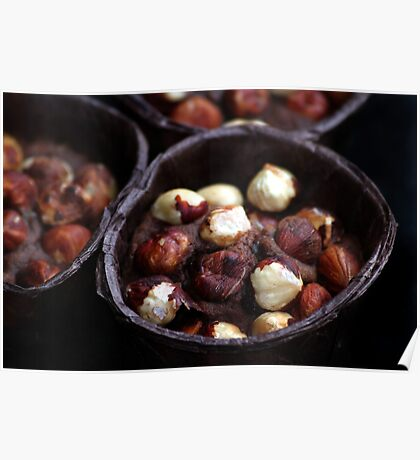 Chocolate Hazelnut Frangipane Tarts Poster