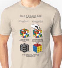 Rubik's Cube:The easy way Unisex T-Shirt