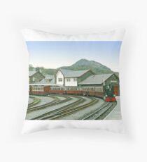 Porthmadog - Wales Throw Pillow