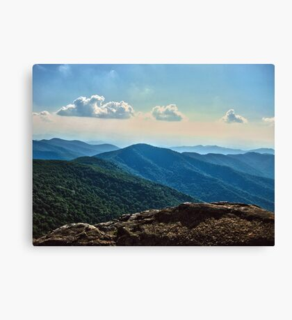 Blue Ridge Mountain - Outlook Canvas Print