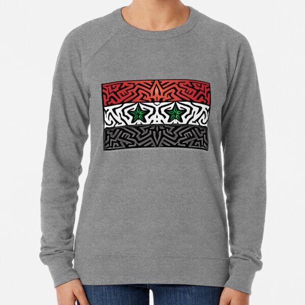 Crazy Flag # 224 Lightweight Sweatshirt