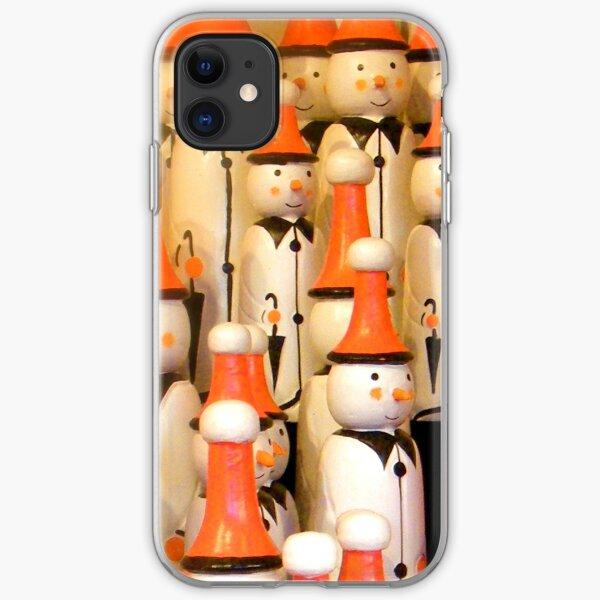 Snowmen iPhone Case iPhone Soft Case