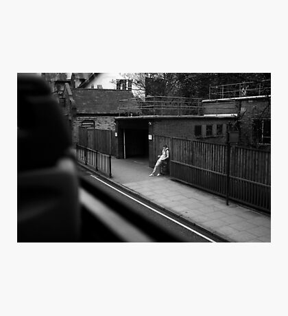LONDON: VIEWS FROM THE TOP DECK PT 2 'THE STAND UP' Photographic Print
