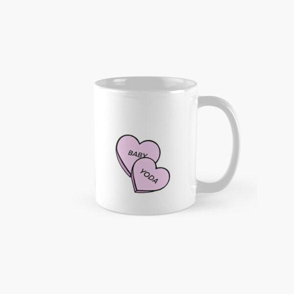 Baby Yoda Candy Hearts Classic Mug