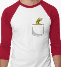 Mystery Science Crow Men's Baseball ¾ T-Shirt