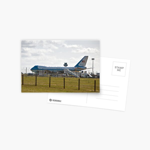 Airforce One Postcard