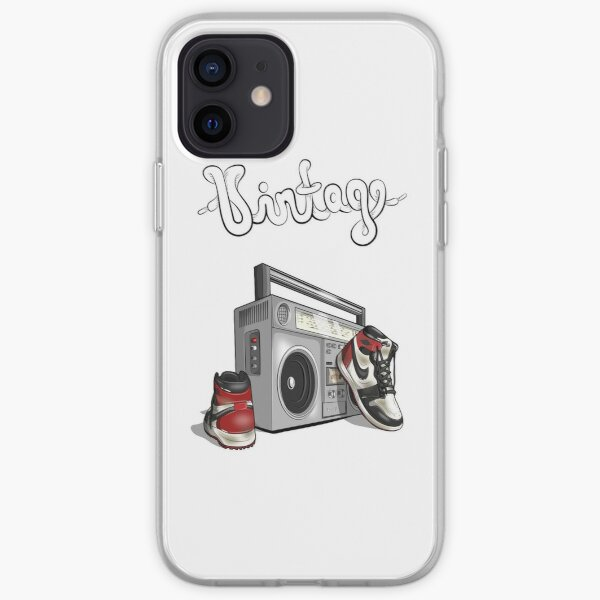 Vintage Hip-hop Basketball Graphic iPhone Soft Case