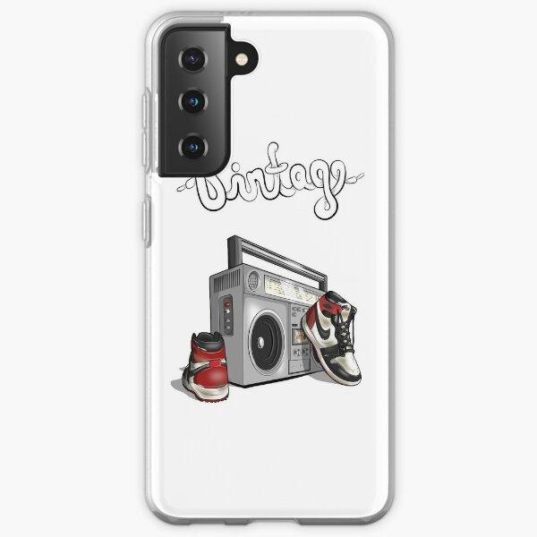 Gráfico de baloncesto hip-hop vintage Funda blanda para Samsung Galaxy