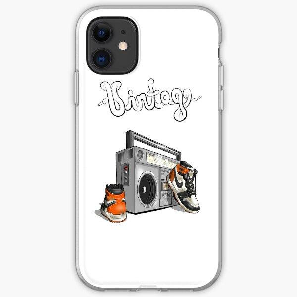 Vintage Hip-hop Basketball Graphic (Shattered Backboard) iPhone Soft Case