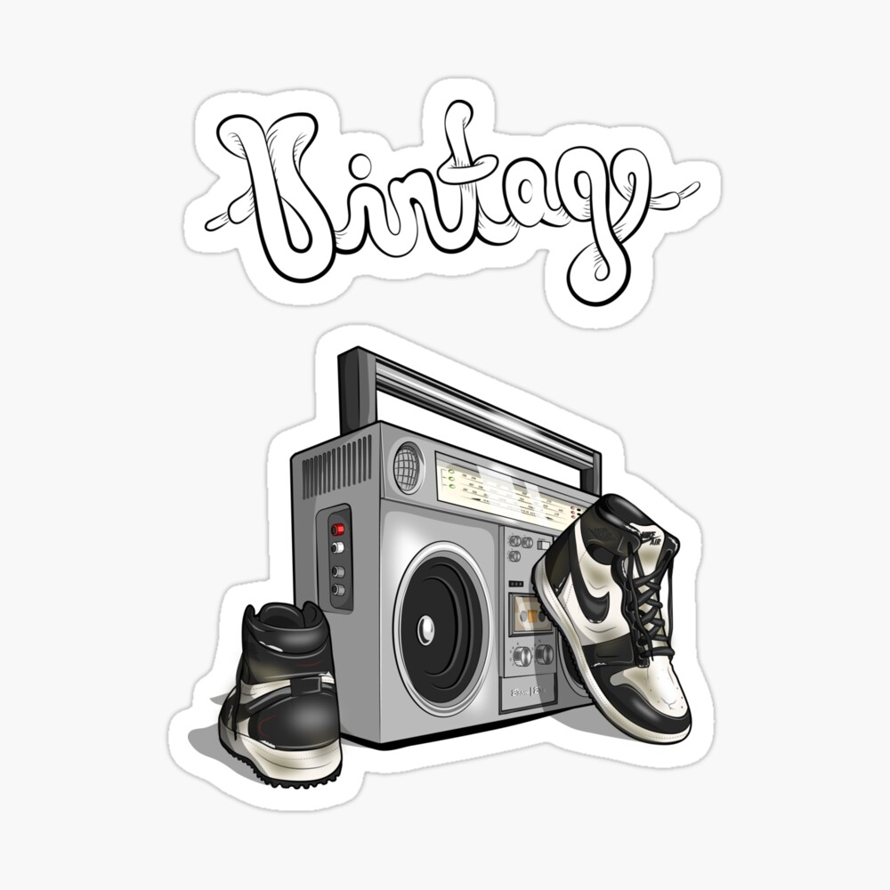 Vintage Hip Hop Basketball Graphic Black White Poster By Rda5301 Redbubble