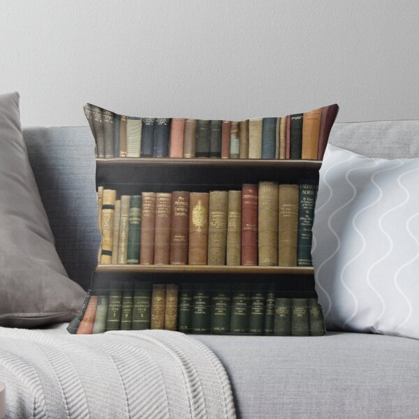 Endless Library (pattern) 4 Throw Pillow