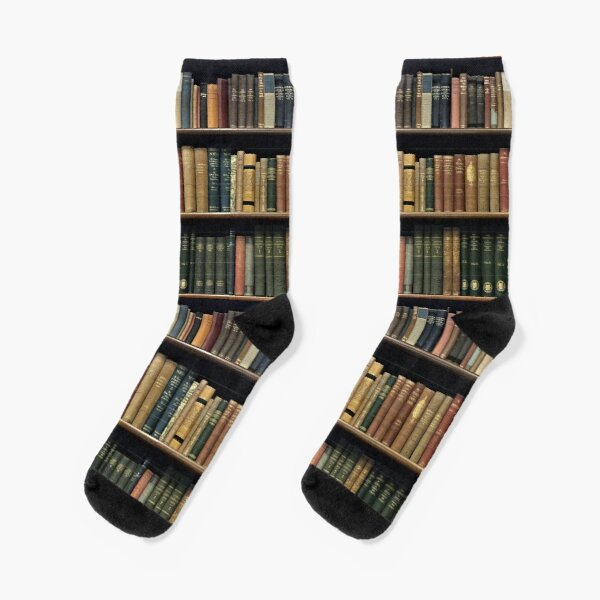 Endless Library (pattern) Socks