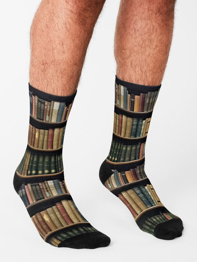 Alternate view of Endless Library (pattern) Socks
