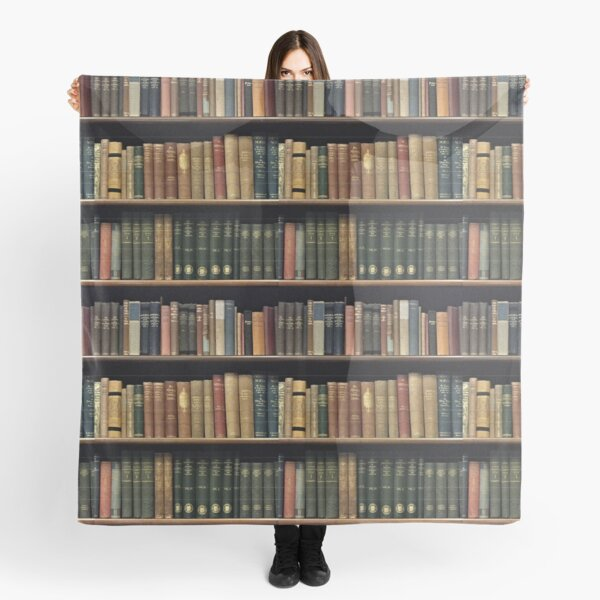 Endless Library (pattern) Scarf
