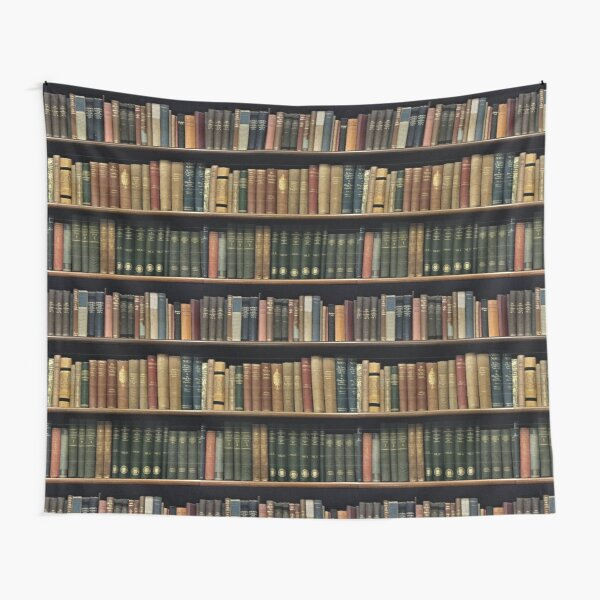 Endless Library (pattern) Tapestry