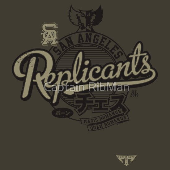 "TShirtGifter presents: San Angeles Replicants - ""Blade Runner"" Chess Team"
