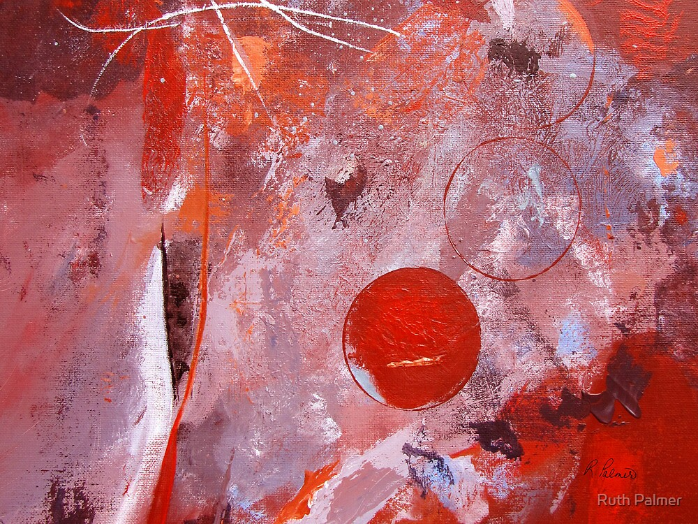 Encased In Red by Ruth Palmer