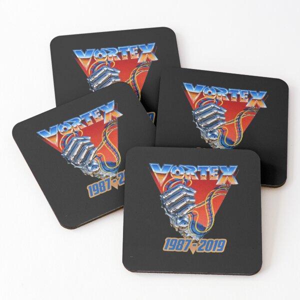 kings island vortex Coasters (Set of 4)
